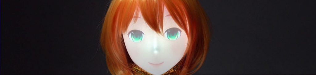 "An interactive robot version of ""Mirai Komachi"" Humankind has been…"