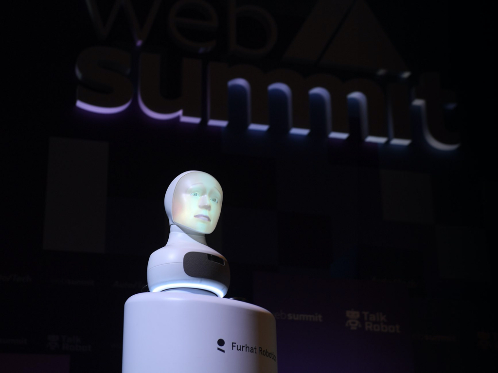 Furhat at Web Summit