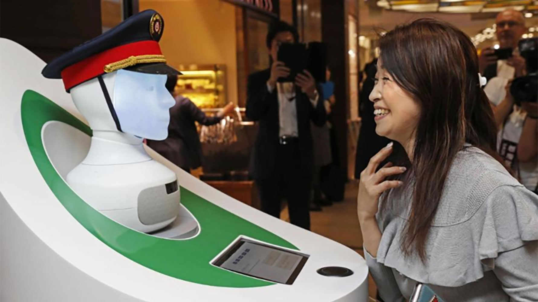 Robot concierge to assist millions of passengers in Germany and Japan