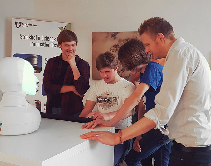 Stockholms Stad to test social robots in school classrooms