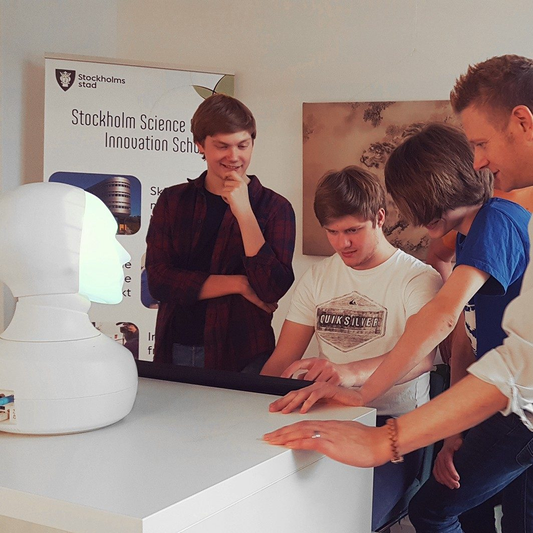 Customer spotlight Robot teaching assistant The City of Stockholm wants…
