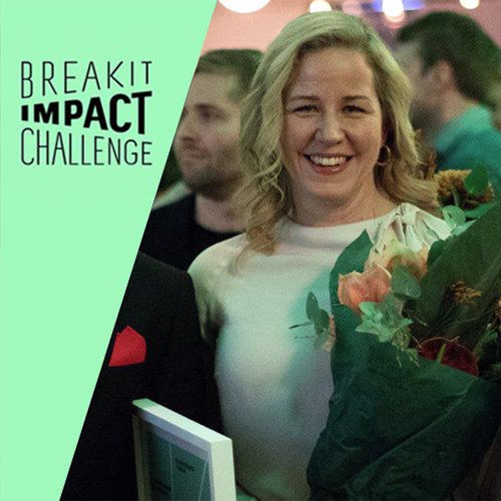 Stockholm, Sweden Breakit Impact Awards Winners of the Breakit Impact…