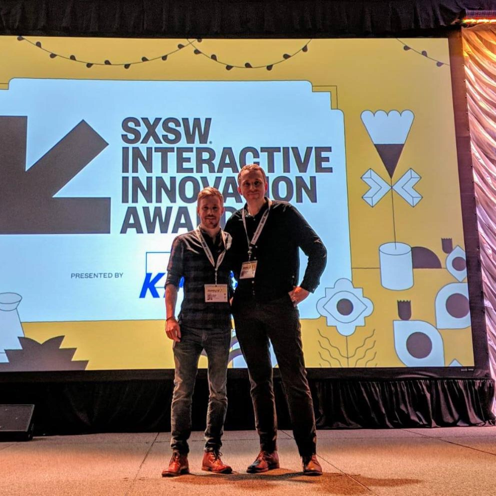 Austin, Texas SXSW Interactive Innovation Awards Selected as a finalist…